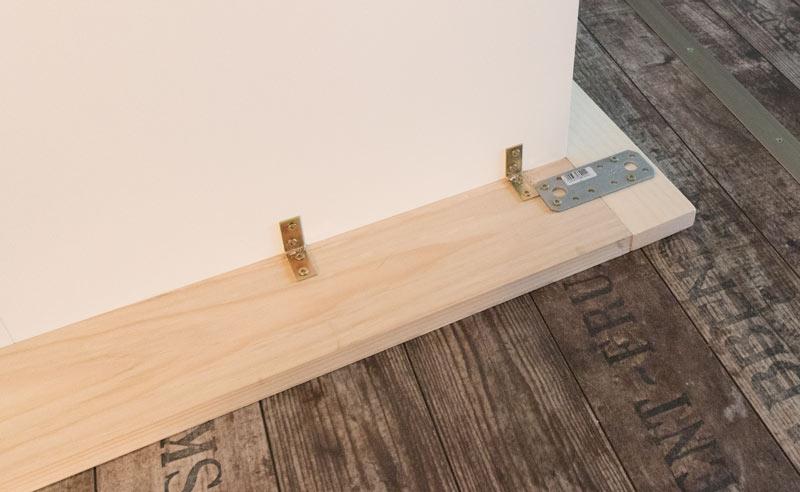 Shabby Chic DIY Einbauschrank selber bauen IKEA Hack 7