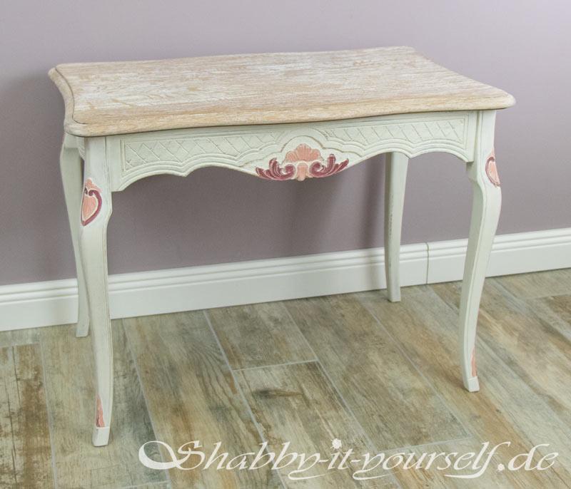 Eiche Rustikal Tisch in Shabby Chic 15