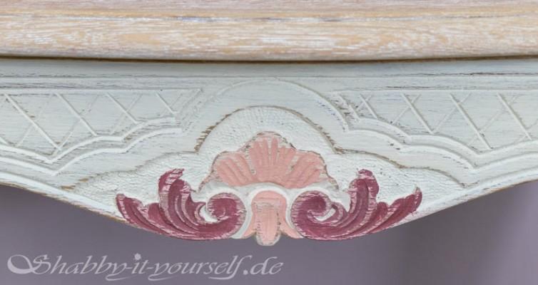 Eiche Rustikal Tisch in Shabby Chic 16