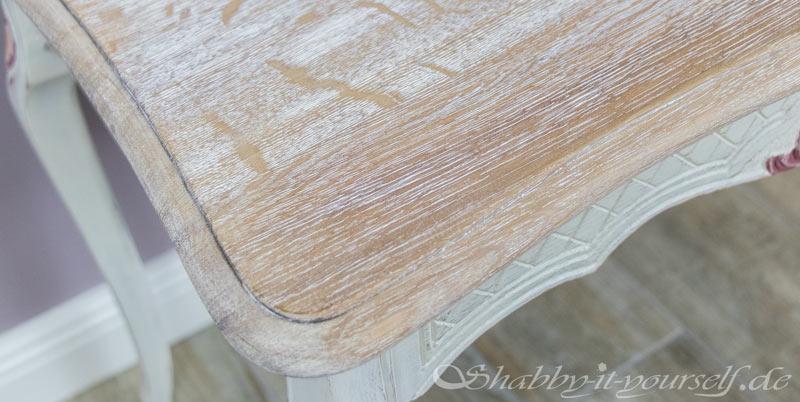 Eiche Rustikal Tisch in Shabby Chic 18