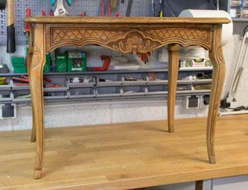 Eiche Rustikal Tisch in Shabby Chic 2