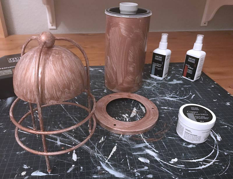 Modern Masters Kupfer Effekt Farbe Patina 2
