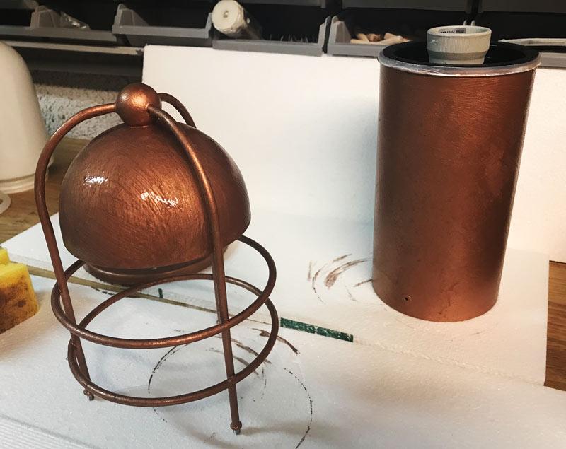 Modern Masters Kupfer Effekt Farbe Patina 3