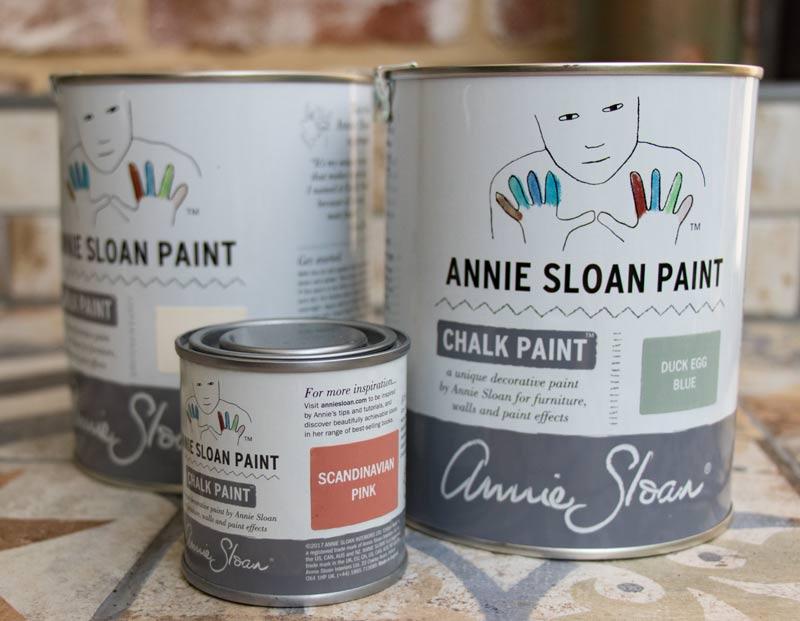 Annie Sloan Chalk Paint Farbdosen