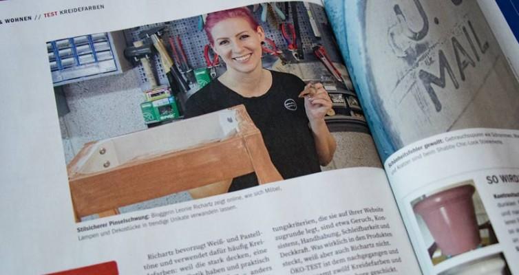 Leonie in der Zeitschrift Öko-Test