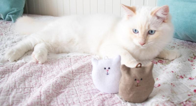 Glücksbringer Katze selber nähen 17