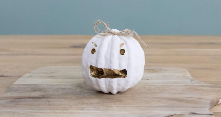Shabby Chic Vintage Herbst Deko Kürbis Halloween 14