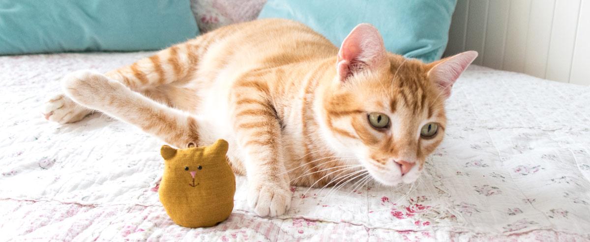 Glücksbringer Katze selber nähen 25