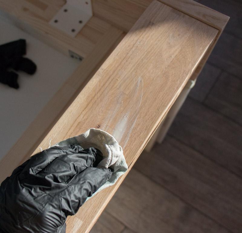 DIY Bett selber bauen 11