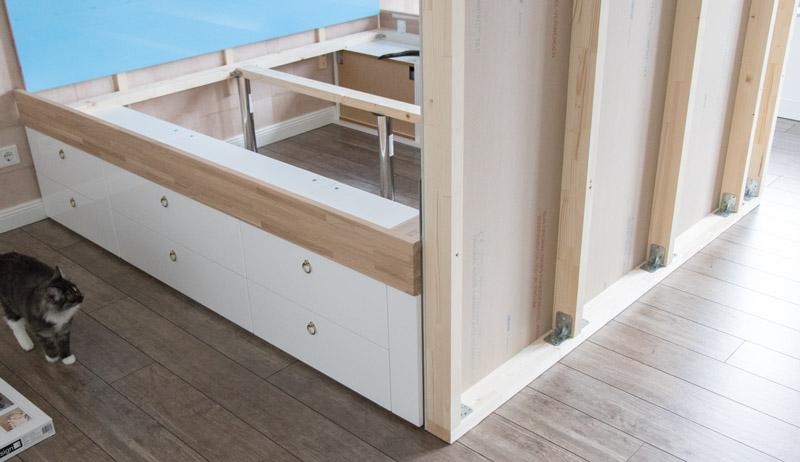 DIY Bett selber bauen 16