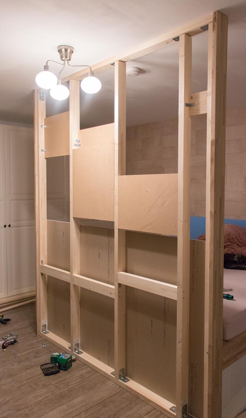 DIY Bett selber bauen 18
