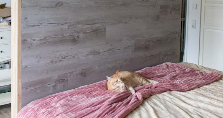 DIY Bett selber bauen 20