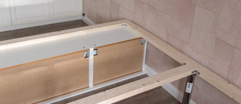DIY Bett selber bauen 5