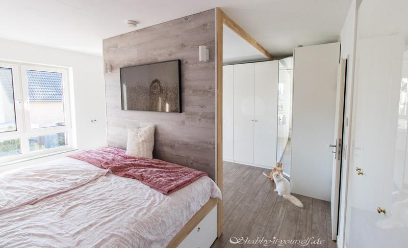 DIY Bett selber bauen 43