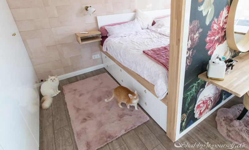 DIY Bett selber bauen 44