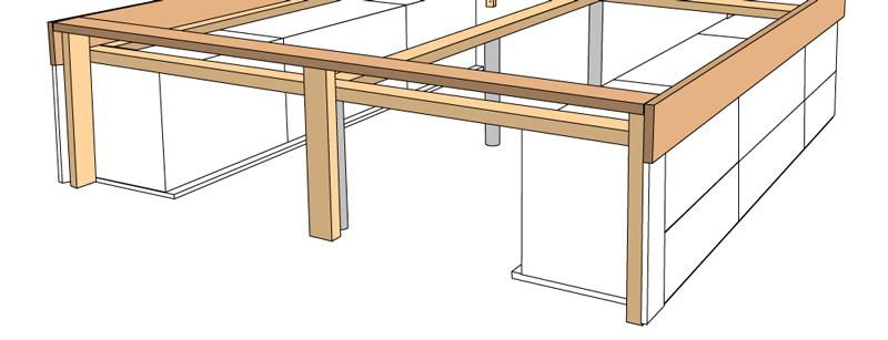 DIY Bett selber bauen 67