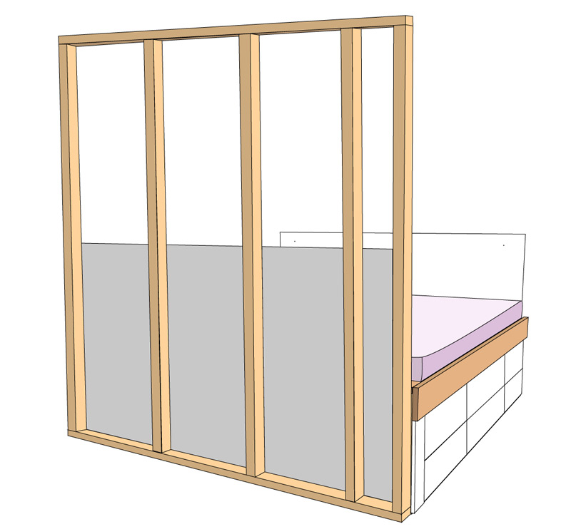 DIY Bett selber bauen 71