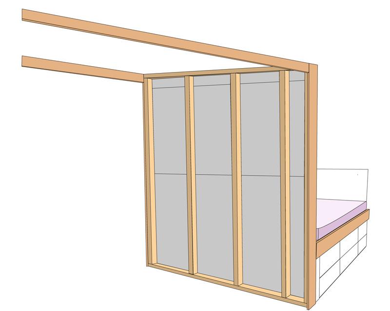 DIY Bett selber bauen 72