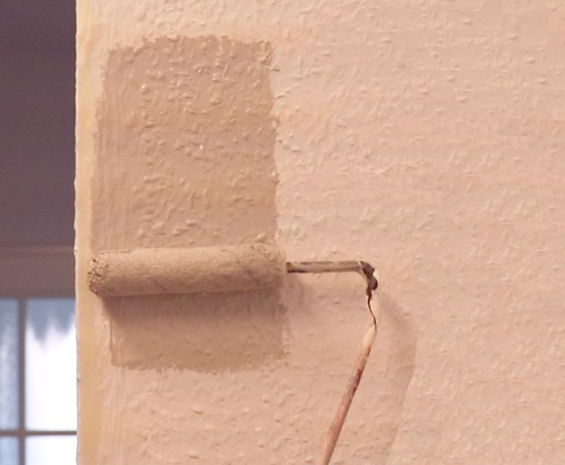 Flurgestaltung mit Kreidefarbe Wandfarbe 15