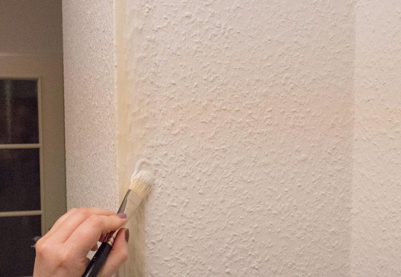 Flurgestaltung mit Kreidefarbe Wandfarbe 3