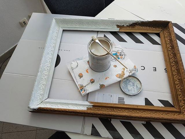 Shabby it yourself Leserprojekt Bilderrahmen Rosemarie 2