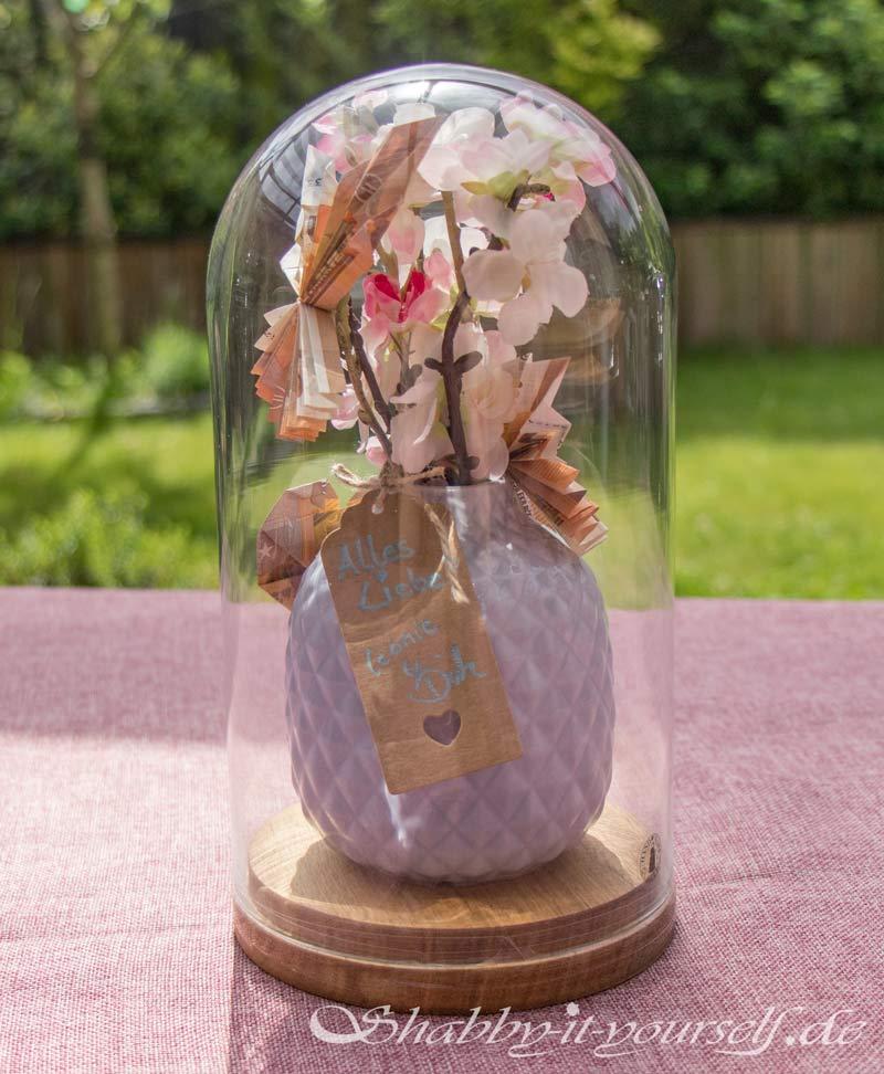 Geldgeschenk zur Hochzeit - Das fertige Geschenk