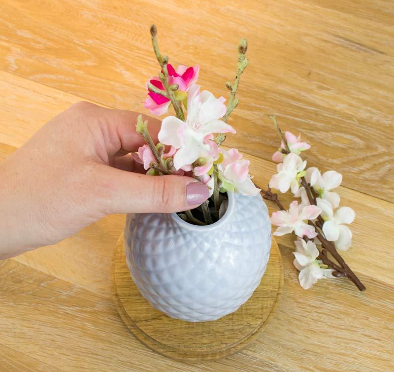 Geldgeschenk zur Hochzeit - Blumen arrangieren