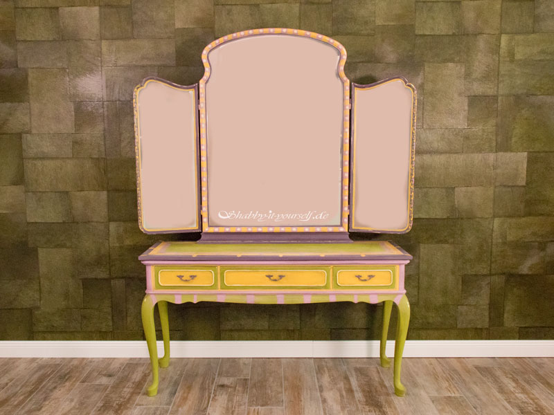 Annie Sloan Charleston Collection Spiegelkommode - Fertig