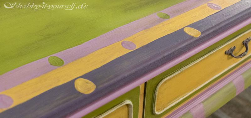 Annie Sloan Charleston Collection Spiegelkommode - Ein einzogartiges Design