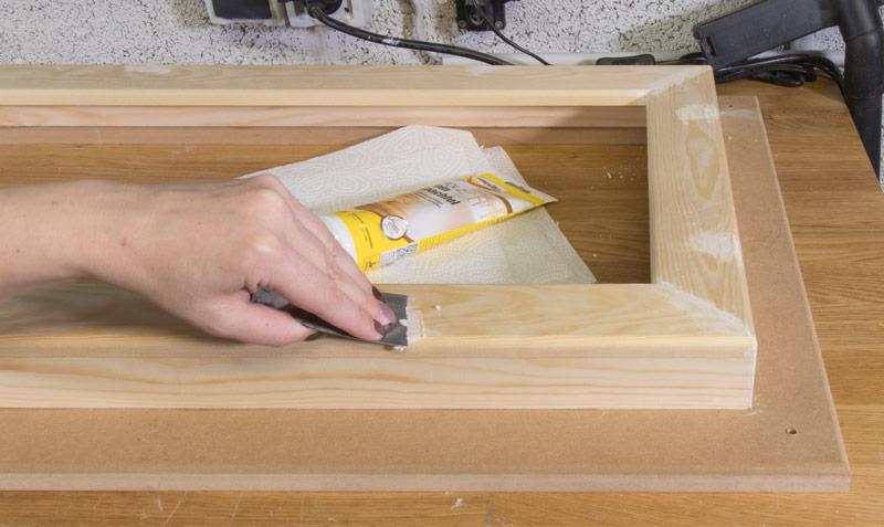 Industrial Style Lampe bauen Deckenlampe - Verspachteln