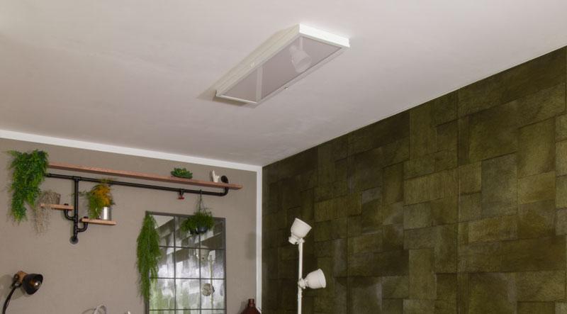 Industrial Style Lampe bauen Deckenlampe - IKEA FLOALT an der Decke