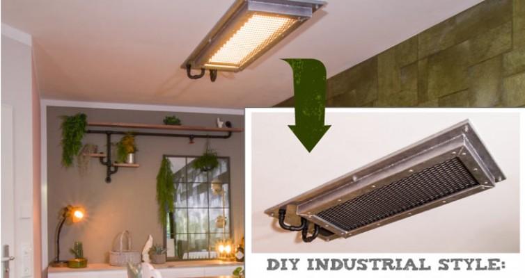 Industrial Style Lampe bauen Deckenlampe - Bauanleitung online