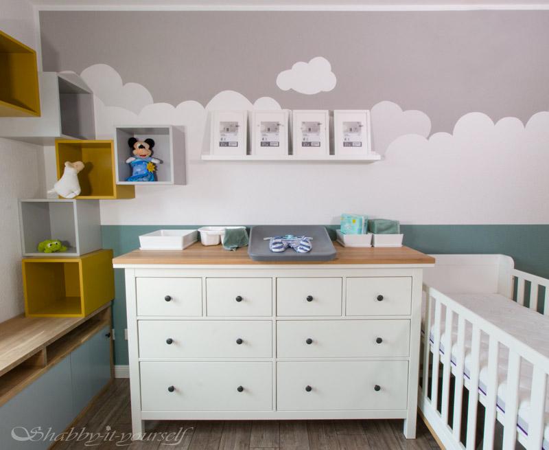 IKEA HEMNES zu Wickelkommode umbauen - Die fertige Wickelstation