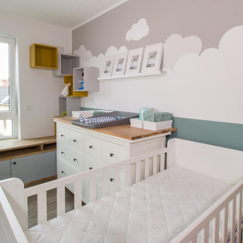 IKEA HEMNES zu Wickelkommode umbauen - Bald ist das Zimmer fertig