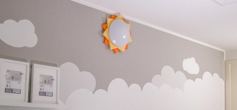 Kinderzimmer Lampe selber bauen - Ein Highlight im Babyzimmer