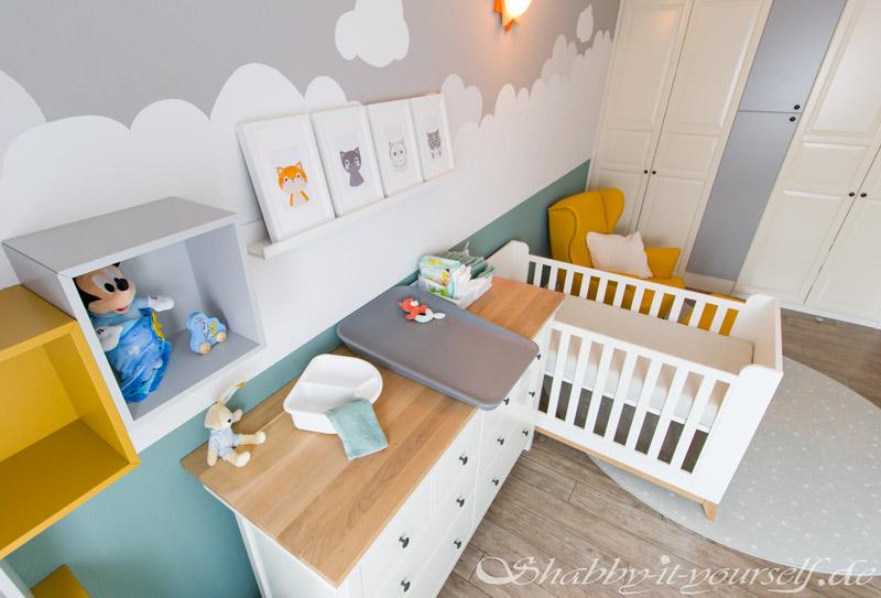 Babyzimmer Kinderzimmer Jungen - Hier wird gewickelt