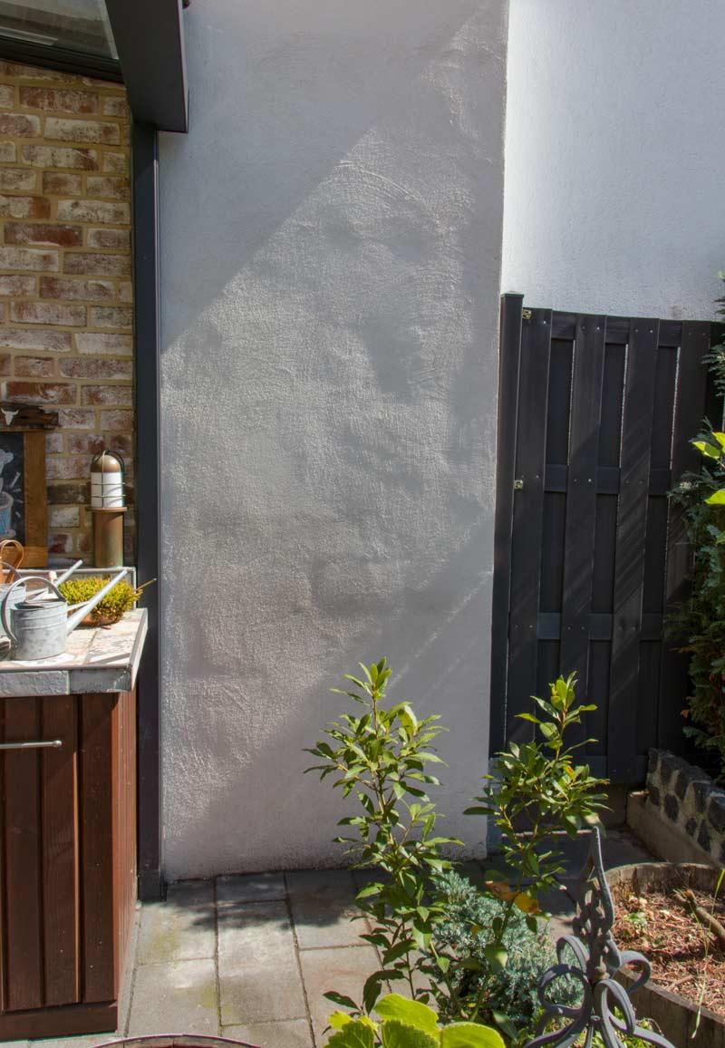 Anleitung Hochbeet Pflanzkuebel selber bauen - Hier soll der Kübel hin