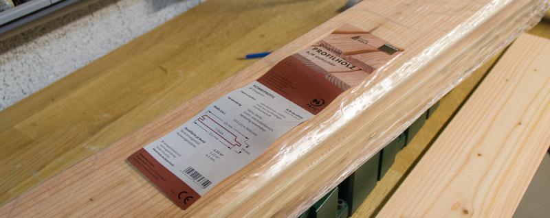 Anleitung Hochbeet Pflanzkuebel selber bauen - Profilholz für den Korpus