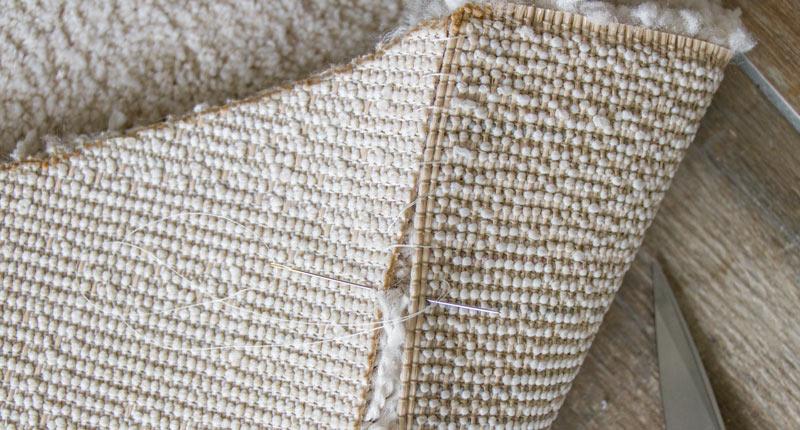 IKEA Teppich STOENSE zusammenlegen - Teppiche zusammennähen