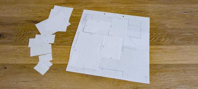IKEA Teppich STOENSE zusammenlegen - Der Plan