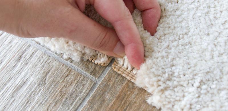 IKEA Teppich STOENSE zusammenlegen - So sehen die Kanten aus