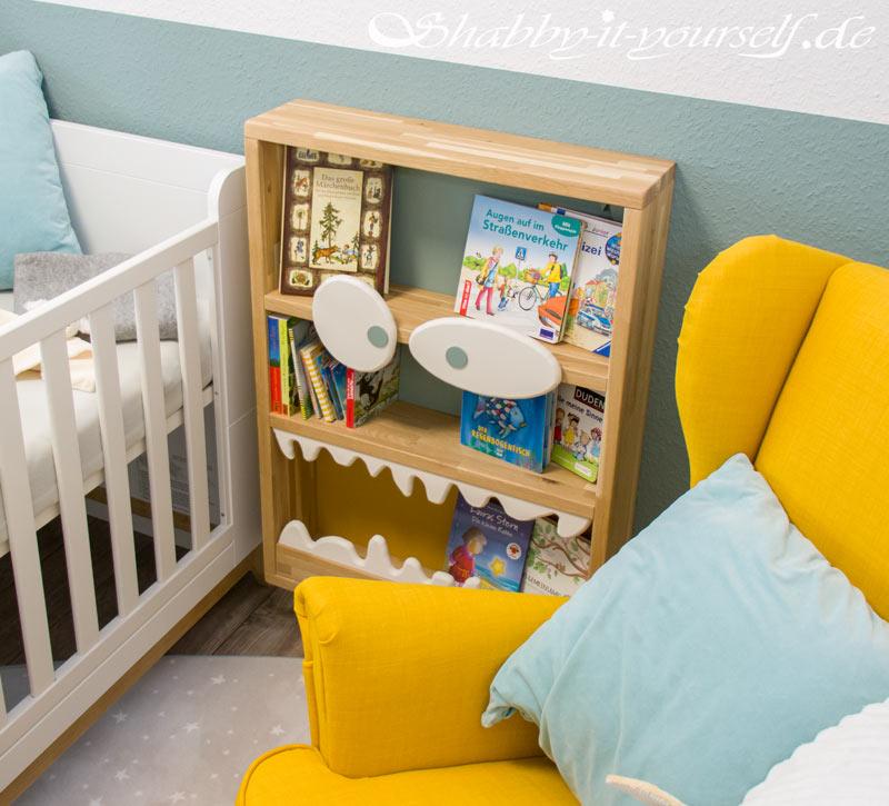 Monster Bücherregal für Kinder - Der Hingucker im Kinderzimmer