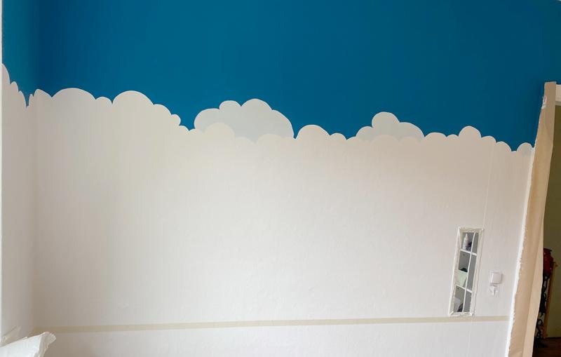 Leserprojekt Wandbild Weltraum von Katja - Wolkenbilder